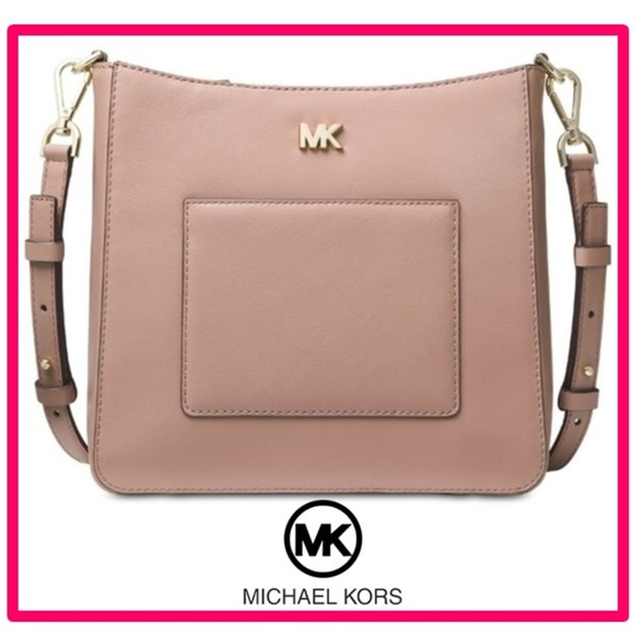 MICHAEL KORS GLORIA POCKET SWING PACK CROSSBODY NWT